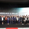 Members of ÇEVKO Foundation L'Oreal Turkey, Mey İçki, and Sütaş were awarded with their projects.