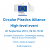High-level event of the Circular Plastics Alliance