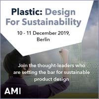 Plastic: Design for sustainability 2019
