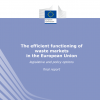 The final EC report on the efficient functioning of waste markets in the European Union – legislative and policy options