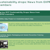 New publication of EXPRA: Sustainability drops – news from EXPRA members