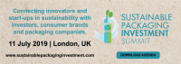 sustainable packaging investment summit 2