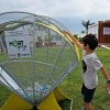 """ECOPACK (Bulgaria): The sea side city of Bourgas collects plastic packaging in """"sea shell"""" art installations"""